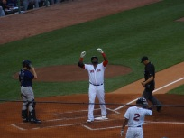 One of many home runs by Big Papi