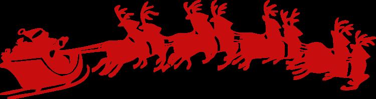 santa-sleigh-pulled-by-reindeer-vector-clipart
